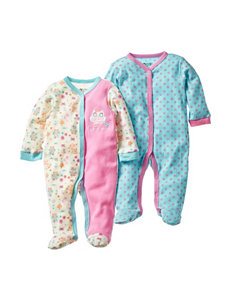 Baby Gear 2-pk. Pink Owl Sleeper – Baby 0-9 Mos.