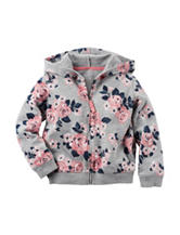 Carter's® Floral Print Full Zip Hoodie – Toddler Girls