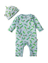 Eric Carle Leaf Toss Print Coverall - Baby 0-9 Mos.