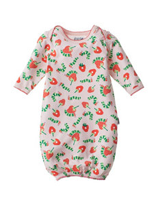 Eric Carle Strawberry Print Gown - Baby 0-6 Mos.