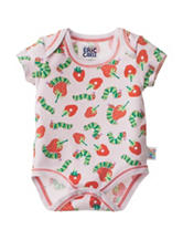 Eric Carle Strawberry Print Bodysuit- Baby 0-9 Mos.