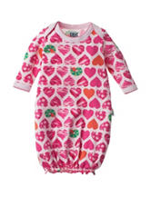 Eric Carle Heart Print Gown - Baby 0-6 Mos.