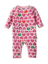 Eric Carle Heart Print Coverall - Baby 0-9 Mos