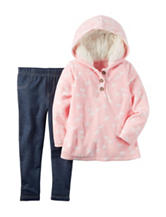 Carter's® 2-pc. Horse Print Hoodie & Jeggings Set - Baby 12-24 Mos.