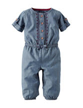 Carter's® Aztec Embroidery Chambray Coverall – Baby 0-24 Mos.