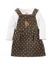 Carter's® 2-pc. Thanksgiving Jumper Set - Baby 0-18 Mos.