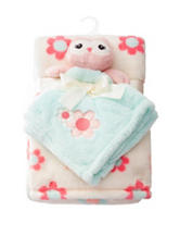 Baby Gear 2-pc. Owl Buddy & Flower Blanket