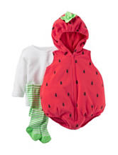 Carter's® 3-pc. Strawberry Costume - Baby 3-9 Mos.