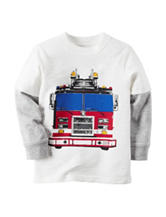 Carter's® Firetruck Print T-shirt - Toddler Boys