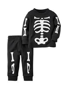 Carters® 2-pc. Skeleton T-shirt & Pants - Baby 0-18 Mos.