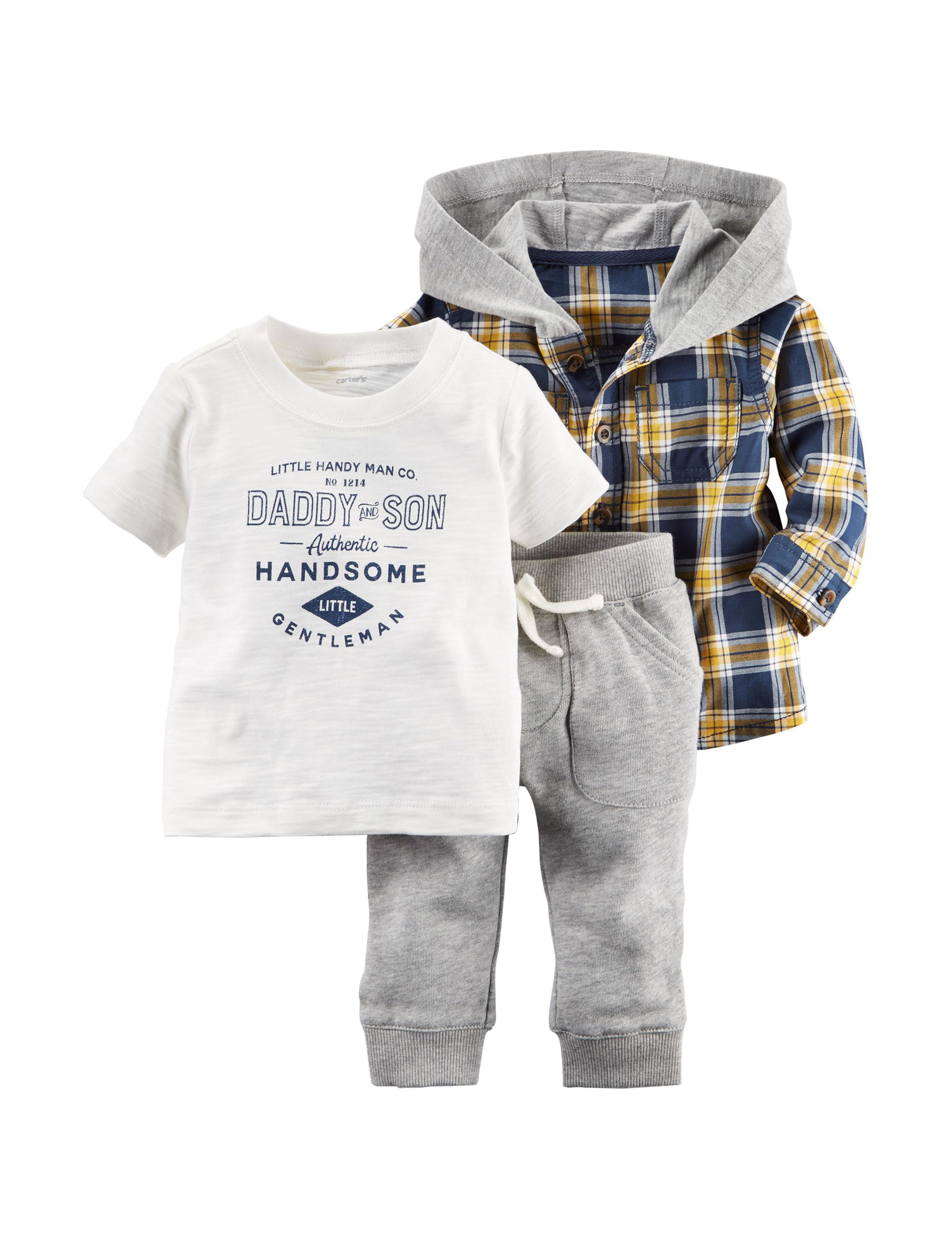 Carter's Heather Grey
