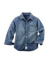 Carter's® Faded Denim Woven Shirt – Boys 4-8