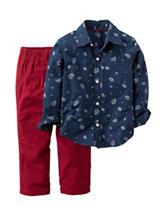 Carter's® 2-pc. Paisley Shirt & Pants Set – Toddler Boys