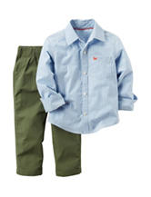 Carter's® 2-pc. Striped Print T-shirt & Pants Set - Toddler Boys