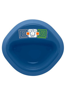 Zak Designs Blue Monkey Microwave Safe No Tip Bowl