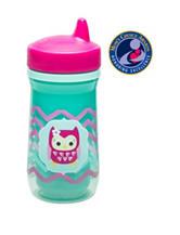 Zak Designs Owl Chevron Perfect Flo® Spout Cup