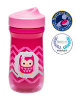 Zak Designs Owl Chevron Perfect Flo® Sippy Cup