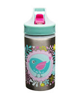 Zak Designs Tweet Stainless Steel Sport Bottle