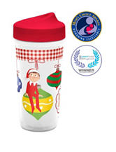 Zak Designs Elf On The Shelf Perfect Flo® Sippy Cup