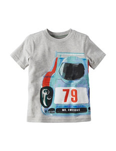 Carter's® Heather Grey Race Car T-shirt – Boys 4-8