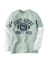 Carter's® First Round Pick Layered-Look T-shirt – Boys 4-8