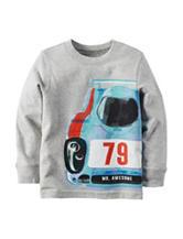 Carter's® Heather Grey Race Car T-shirt – Boys 4-8
