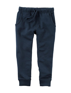 Carter's® Navy French Terry Jogger Pants – Boys 4-8