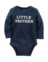 Carter's® Navy Little Brother Bodysuit – Baby 0-9 Mos.