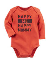 Carter's® Orange Happy Me & Mommy Bodysuit – Baby 0-9 Mos.