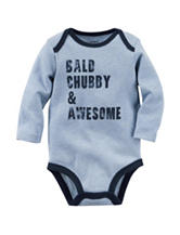 Carter's® Bald Chubby & Awesome Bodysuit – Baby 0-9 Mos.