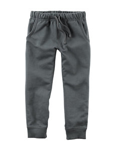 Carter's® Grey French Terry Jogger Pants – Boys 4-8