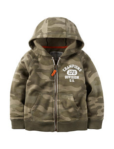 Carter's® Camouflage Fleece Hoodie - Toddler Boys
