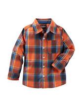 OshKosh Bgosh® Multicolor Plaid Print Woven Shirt - Boys 4-7