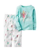 Carters® 2-pc. Im Fairy Sleepy Pajama Set - Girls 4-8