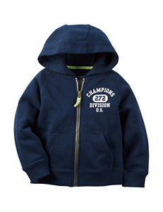 Carter's® Navy Fleece Hoodie - Boys 4-8
