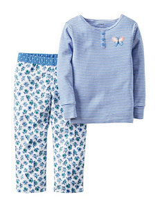 Carters® 2-pc. Butterfly Pajama Set - Toddler Girls