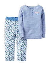 Carters® 2-pc. Butterfly Pajama Set - Girls 4-8