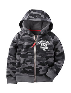 Carter's® Camouflage Print Fleece Hoodie - Toddler Boys