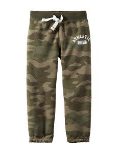 Carter's® Camo Print Fleece Pants – Toddler Boys