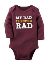 Carters® My Dad is Super Rad Bodysuit - Baby 0-9 Mos.