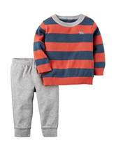 Carter's® Striped Print Sweater & Pants Set - Baby 3-18 Mos.