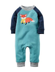 Carter's® Fox Print Fleece Coverall - Baby 0-12 Mos.