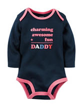 Carter's® Navy Charming Daddy Bodysuit – Baby 0-9 Mos.