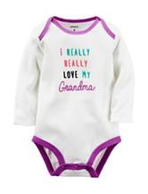 Carter's® Love My Grandma Bodysuit – Baby 0-9 Mos.