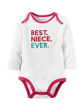 Carter's® Best Niece Ever Bodysuit – Baby 0-9 Mos.