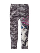 Wishful Park Princess Kitty Leggings – Girls 4-6x