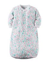 Carter's® Floral Print Microfleece Sleep Bag – Baby 0-9 Mos.