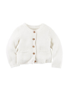 Carter's® Ivory Knit Cardigan Sweater – Baby 3-12 Mos.