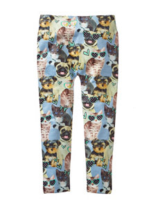 Wishful Park Cats & Dogs Print Leggings – Girls 4-6x
