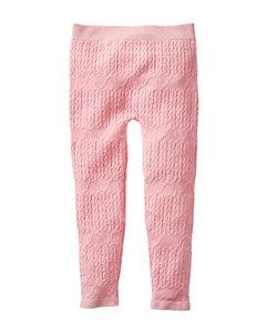 Wishful Park Pink Cable Fleece Leggings – Toddlers & Girls 4-6x